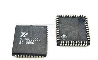 ST16C550CJ44-F UART WITH 16-BYTE FIFO's