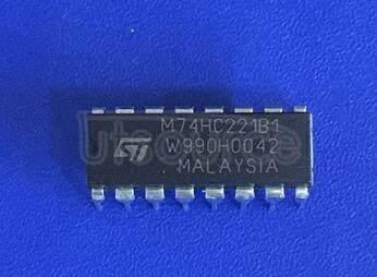 M74HC221B1 DUAL MONOSTABLE MULTIVIBRATOR