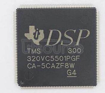 TMS320VC5501PGF300 TMS320VC5501 Fixed-Point Digital Signal Processor