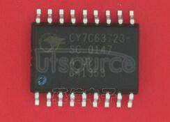CY7C63723-SC enCoRe USB Combination Low-Speed USB & PS/2 Peripheral Controller