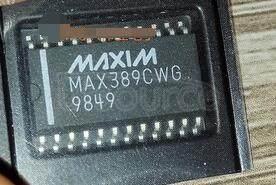 MAX389CWG+
