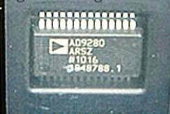 AD9280ARS Complete 8-Bit, 32 MSPS, 95 mW CMOS A/D Converter