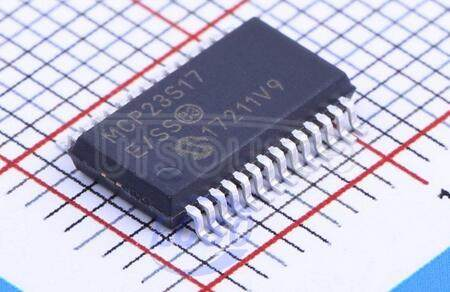 MCP23S17-E/SS 16-Bit   I/O   Expander   with   Serial   Interface