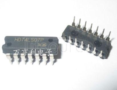 HD74LS07P LOGIC GATE HEX BUFFER LS-TTL DIP 14PIN PLASTIC