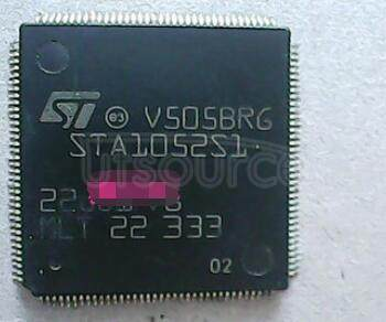STA1052S1 DSP/MCU   system   for   CD-DA,   CD-CA,   CD-ROM   player