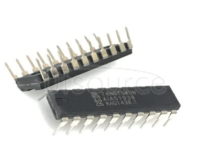 74HCT540N Octal buffer/line driver<br/> 3-state<br/> inverting - Description: Octal Buffer/Line Driver<br/> Inverting<br/> TTL Enabled 3-State <br/> Logic switching levels: TTL <br/> Number of pins: 20 <br/> Output drive capability: +/= 6 mA <br/> Power dissipation considerations: Low Power <br/> Propagation delay: 11 ns<br/> Voltage: 4.5-5.5 V