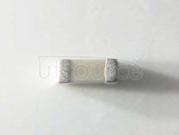 YAGEO chip Capacitance 0603 7.5PF NPO 160V ±0.25PF%