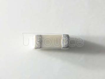YAGEO chip Capacitance 0603 6.2PF NPO 160V ±0.25PF%