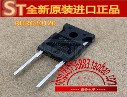 RHRG30120 30A, 1200V Hyperfast Diode30A, 1200V