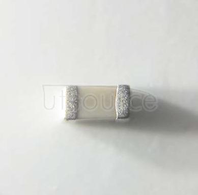 YAGEO chip Capacitance 0603 V NPO 6.3V ±5%