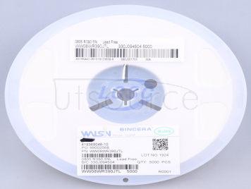 Walsin Tech Corp WW08WR390JTL(100pcs)