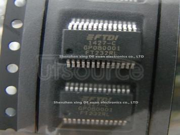 FT232RL IC USB FS SERIAL UART 28-SSOP FT232