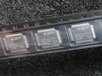 C8051F340-GQR IC MCU 8BIT 64KB FLASH 48TQFP C8051F340