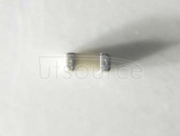 YAGEO chip Capacitance 0402 1.6PF NPO 6.3V ±0.25PF%