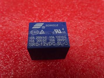 SRD-12VDC-SL-C 12V 10A T73 5PINS