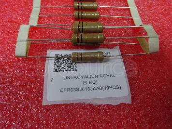 UNI-ROYAL(Uniroyal Elec) CFR03SJ010JAA0(10pcs)