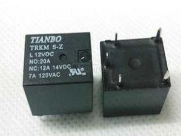 TRKM-S-Z-12VDC 12V 20A 5PINS