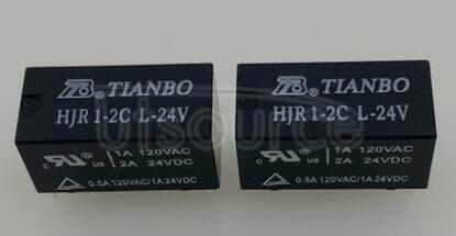 HJR1-2C-L-24VDC HJR1-2C-L-24V 24V 2A 8PINS