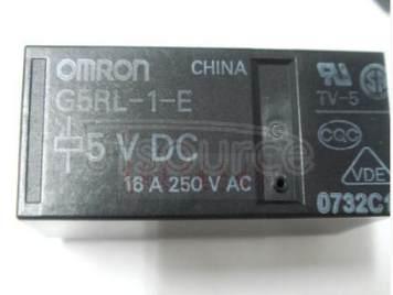 G5RL-1-E-DC5V 5V 16A 8PINS