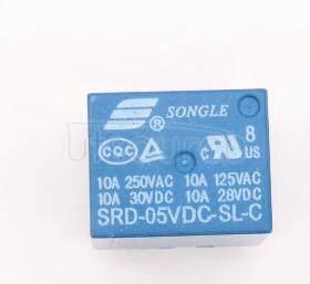 SRD-05VDC-SL-C 5V 10A 5PINS