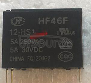 HF46F-G-12-H1T 12V 7A 4PINS