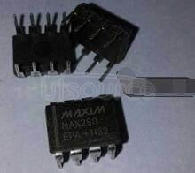 MAX280EPA 5th Order, Zero DC Error, Lowpass Filter