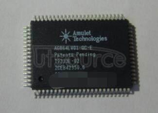 AGB64LV01-QC-E IC 80-PQFP (14x20)