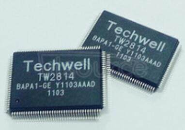 TW2814-PA1-GE DECODER   VIDEO  4CH