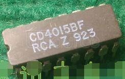 CD4015BF CMOS Dual 4-Stage Static Shift Register