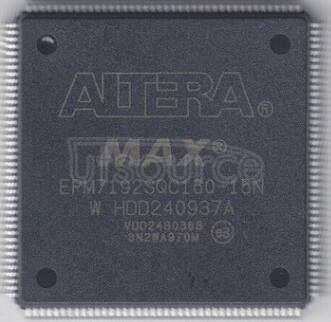 EPM7192SQC160-15N MAX 7000 CPLD 192  160-PQFP