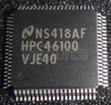 HPC46100VJE40 HPC46100   High-Performance   microController   with   DSP   Capability