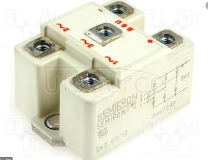 SKD60/12 Power Bridge Rectifiers