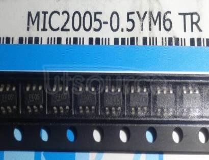 MIC2005-0.5YM6 DISTRIBUTION  SW 0.5A  SOT23-6