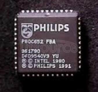 P80C652 CMOS single-chip 8-bit microcontrollers