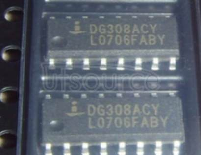 DG308ACY Quad Monolithic SPST / CMOS Analog Switch