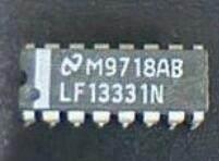 LF13331 Quad SPST JFET Analog Switches