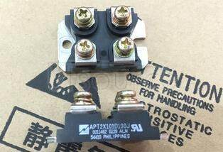 APT2X101D100J ULTRAFAST SOFT RECOVERY DUAL RECTIFIER DIODES
