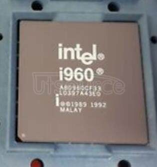 A80960CF33 80960CF-40 -33 -25 -16 32-BIT HIGH-PERFORMANCE SUPERSCALAR EMBEDDED MICROPROCESSOR