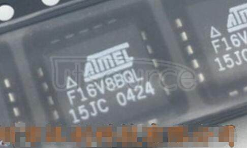ATF16V8BQL-15JI 16V8 Programmable Logic Device (PLD) IC 8 Macrocells 15ns 20-PLCC (9x9)