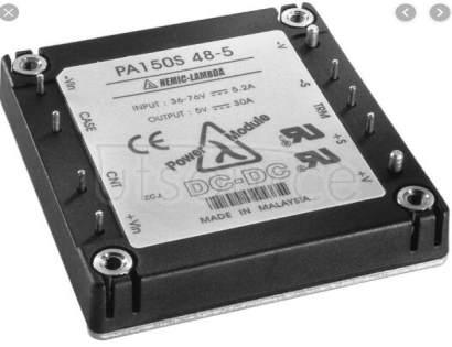 PAH150S48-5 Single output 50W ~ 200W DC-DC power module
