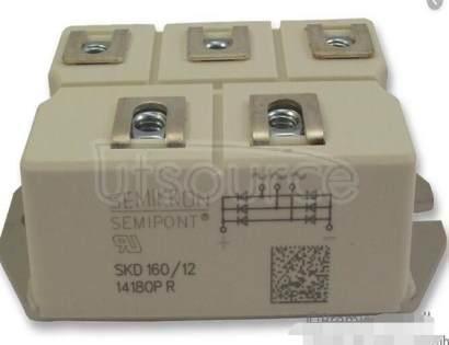SKD160/12 Power Bridge Rectifiers