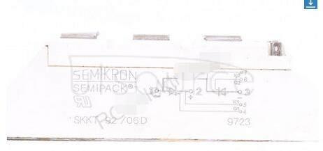 SKKH92/06D SEMIPACK1   Thyristor  /  Diode   Modules