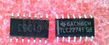 TLC22741 Advanced   LinCMOSE   RAIL-TO-RAIL   OPERATIONAL   AMPLIFIERS