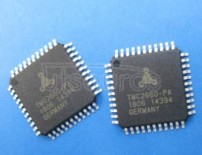 TMC2660-PA Bipolar Motor Driver Power MOSFET SPI, Step/Direction 44-PQFP