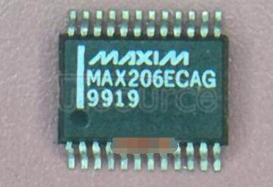 MAX206ECAG+ IC TRANSCEIVER FULL 4/3 24SSOP