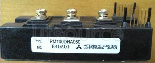 PM100DHA060 TRANSISTOR | IGBT POWER MODULE | HALF BRIDGE | 600V VBRCES | 100A IC
