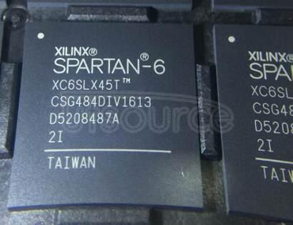 XC6SLX45T-2CSG484I IC FPGA 296 I/O 484CSBGA