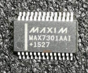 MAX7301AAI+ IC I/O EXPANDER SPI 20B 28SSOP