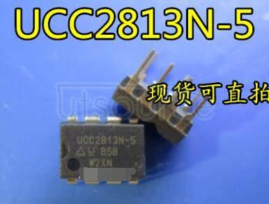 UCC2813N-5 Boost, Flyback, Forward Converter Regulator Positive Output Step-Up, Step-Up/Step-Down DC-DC Controller IC 8-PDIP