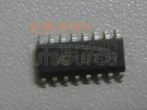 HCF40109 QUAD LOW-TO-HIGH VOLTAGE LEVEL SHIFTER